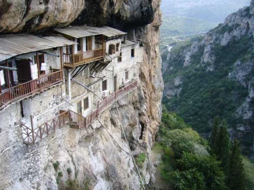 Baptist Monastery (Moni Prodromou)
